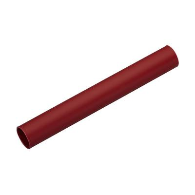 TUBE FENDU ROUGE RUBIS