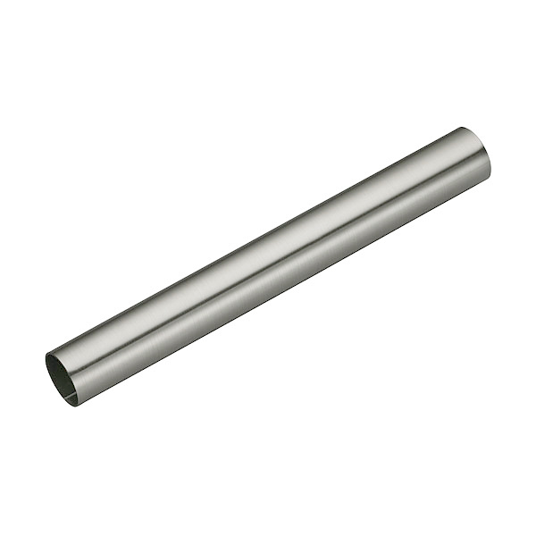 Tube nickel mat brosse